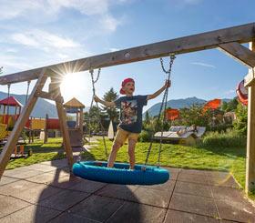 Wochenprogramm im Kinderhotel Buchau